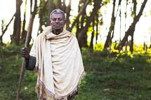 A villager, Benishangul Gumuz, from Ethiopia