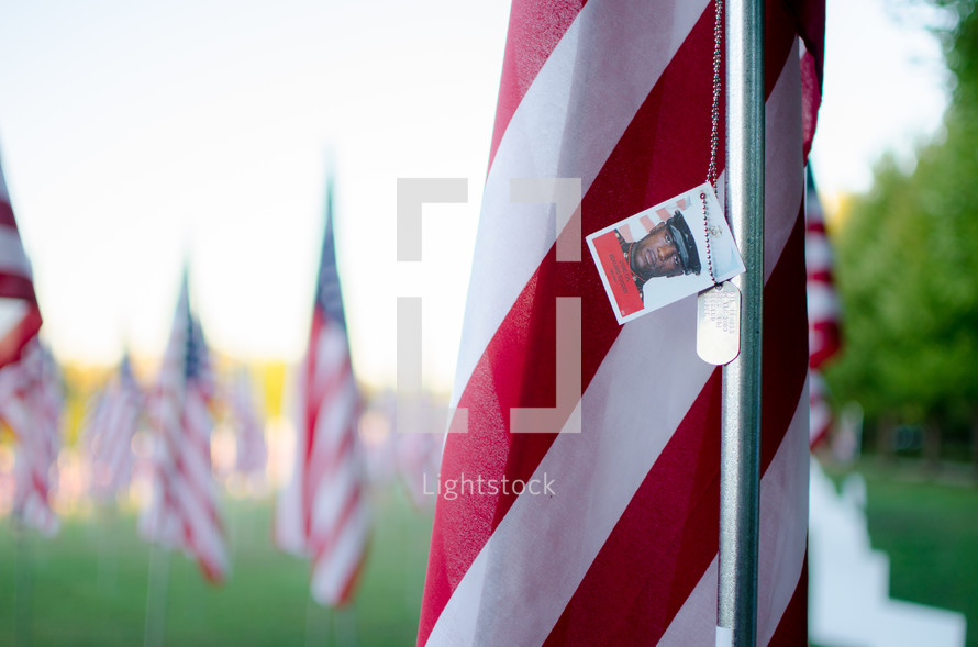 Patriotic Valor Flags