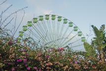 ferris wheel in Tenerife, Spain