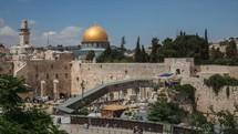 Temple Mount, Time-lapse, Jerusalem