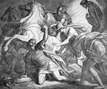 Saul's Conversion on the Road to Damacus, Acts 9:1-9