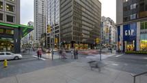Bloor and Bay Toronto