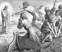 Jesus appears to the Disciples at the Sea of Genesaret, John 21, 1-7