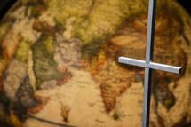 cross and globe