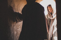 Resurrection of Jesus - empty tomb