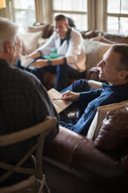 discussion at a Bible Study