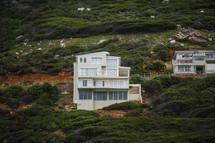house on a mountainside