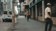 Various people walking along the street - Shoot 2 of 4