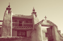 an old Spanish mission