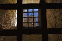 two grates in the castle of Bellinzona
