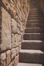 outdoor stairway