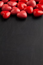 red candy heart border