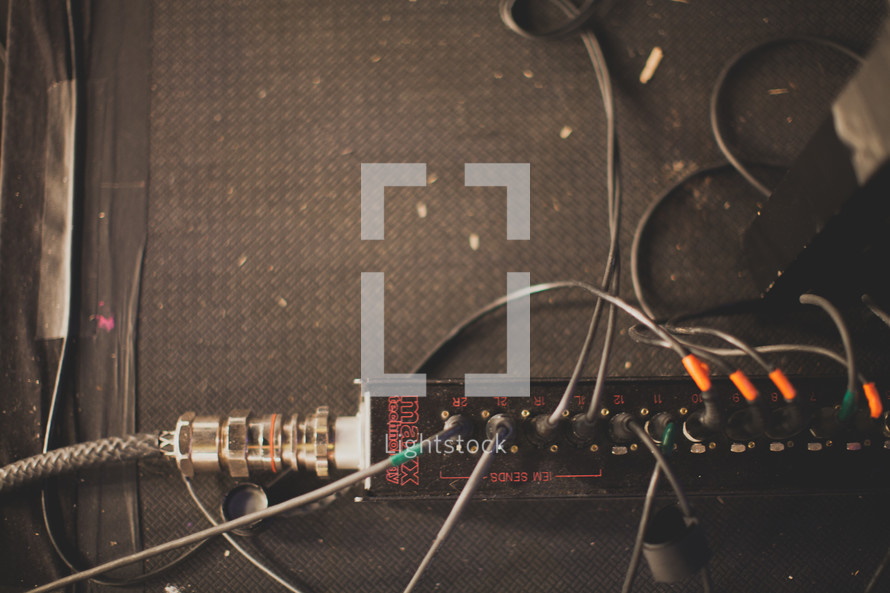 cables for sound production