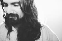 Smiling Jesus.