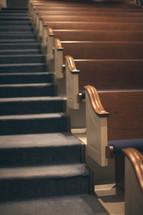 empty church pews