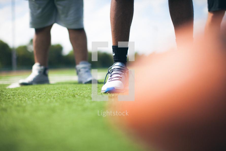 blurry football