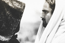 Face-off : The temptation of Jesus