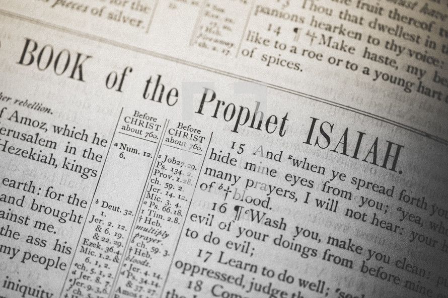 Book of the Prophet Isaiah