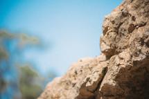 Layers of natural rocks.