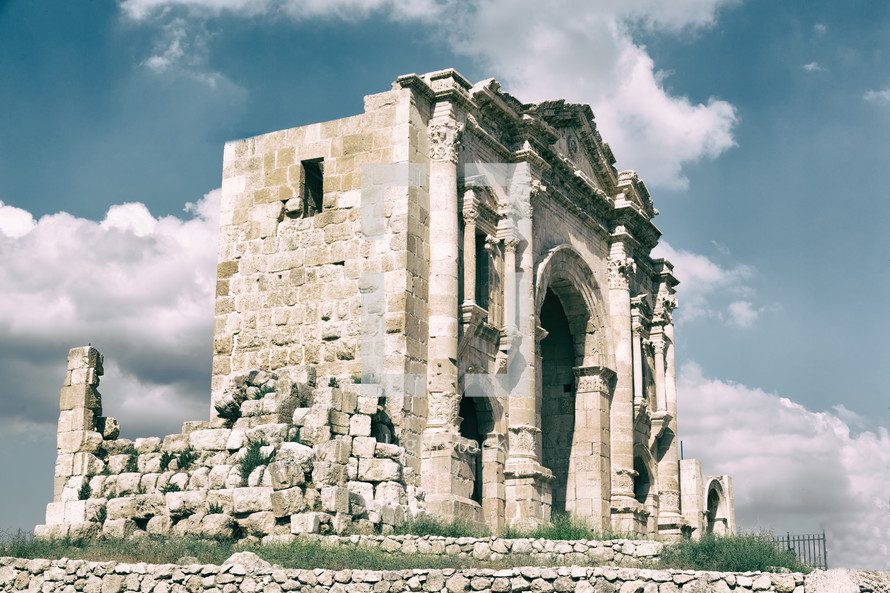 classical heritage ruins