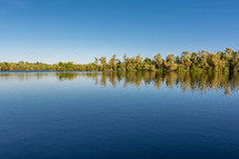 lake in Lorraine, France