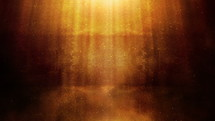 rays of twinkling light