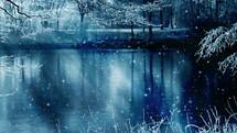slow falling snow