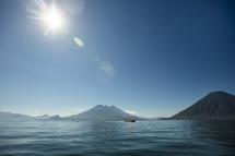 volcanic islands and ocean