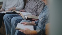 senior group Bible study