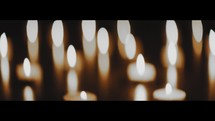 votive candles background