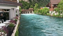river and canal in Switzerland