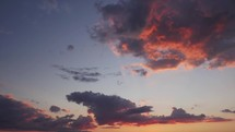 sunset time-lapse