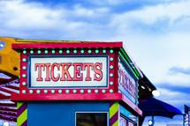 ticket booth at a fair