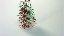 slow motion candy spilling