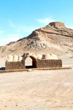 antique temples in Iran