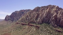 Red rock formations and park 02