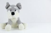 stuffed dog toy