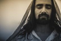 Peaceful Jesus.