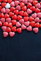 pink, white, red, heart, heart shaped, candy, Valentines day
