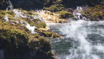 volcanic activity in Waimangu
