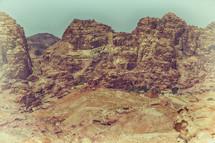 site of Petra, Jordan
