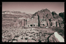 Petra, Jordan monastery ruins