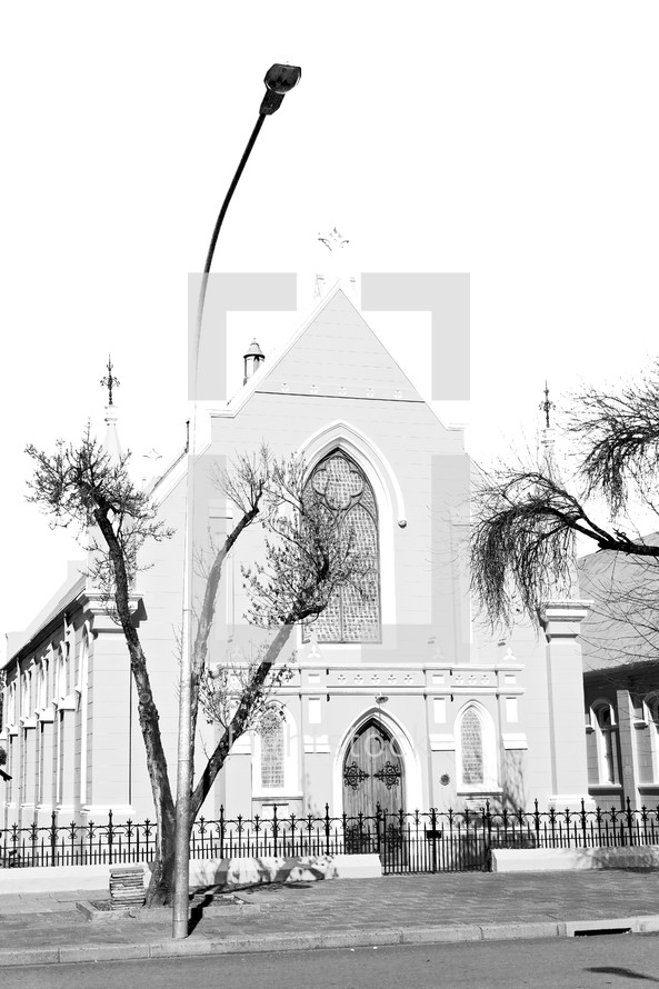 south africa old church in city center