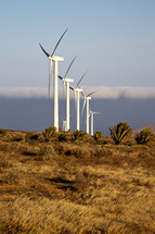 wind turbines in Africa
