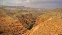 St. George's Monastery at Wadi Qelt.