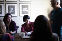 small group meeting and fellowship