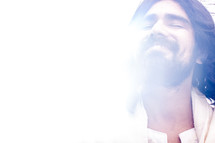 light on the face of Christ
