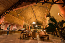lobby in Toraja - Funeral, World heritage, Hotel-