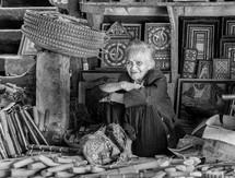 female vendor in a market