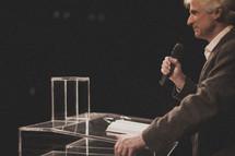 pastor preaching a sermon